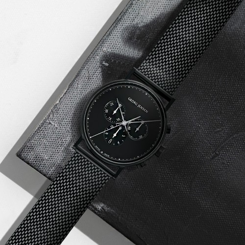 Georg Jensen Black Koppel Chronograph